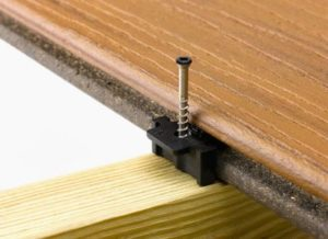 show the Trex Hideaway fastener supplier of Trex Composite Decking