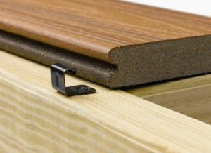 show the Trex Hideaway starter clip supplier of Trex Composite Decking