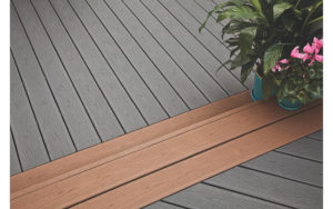 show Trex Enhanced decking 2 color options supplier of Trex Composite Decking